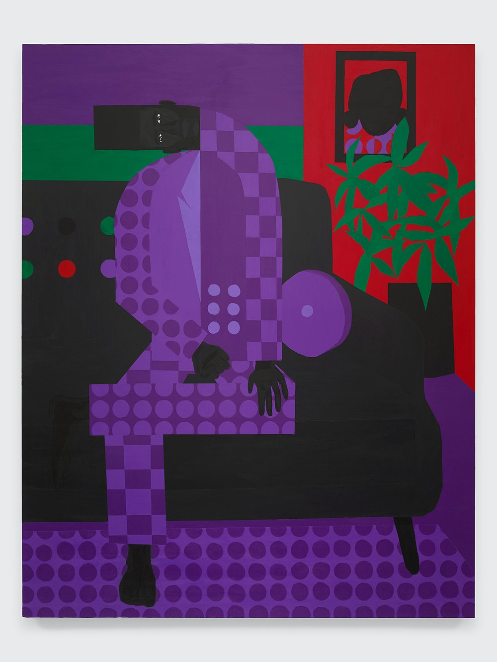 The Man in the Violet Suit No. 15 (Living Room)