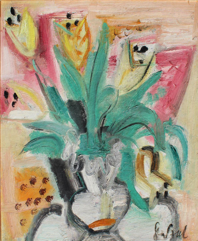 Bouquet de fleur de lis jaune