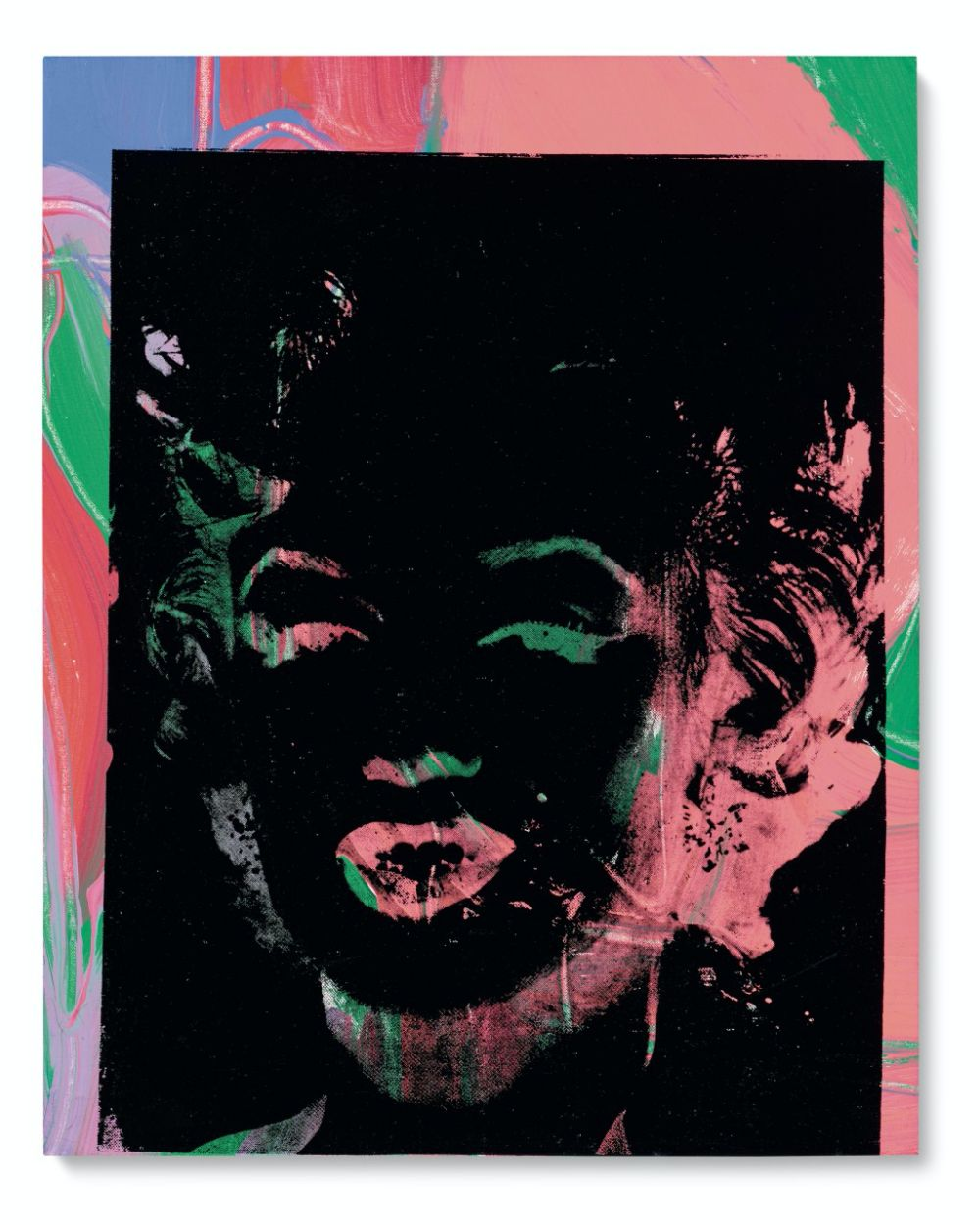 One Multicoloured Marilyn (Reversal Series)