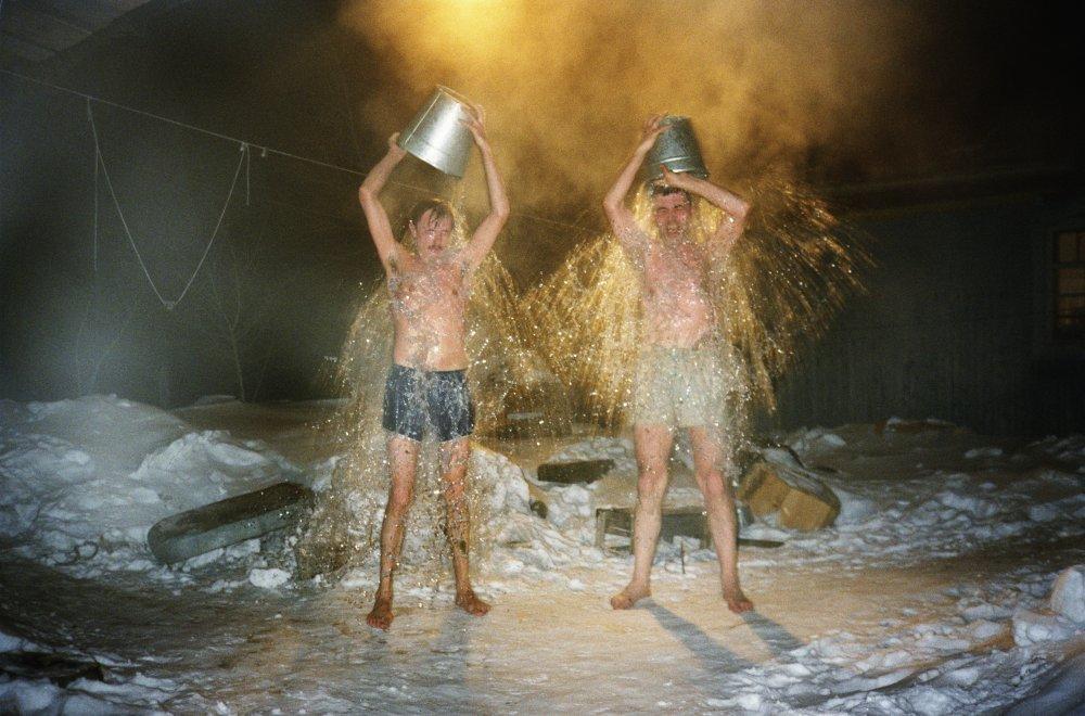 A hundred summers, a hundred winters: Siberia Pjotr + Michael Bathing