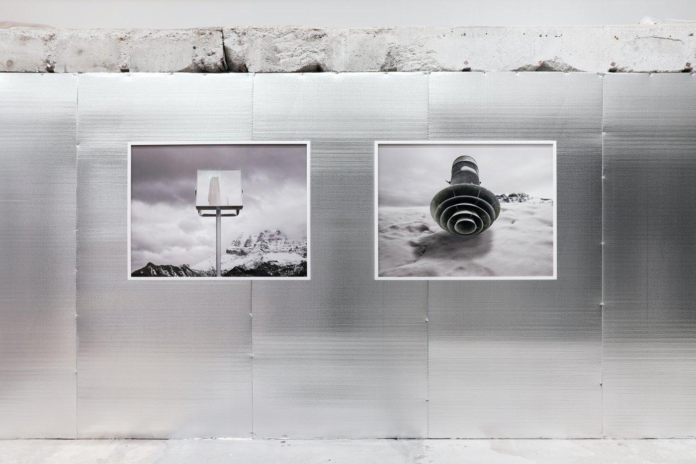 Jorge Conde, vue d'exposition, 2020, Galerie Fabienne Levy