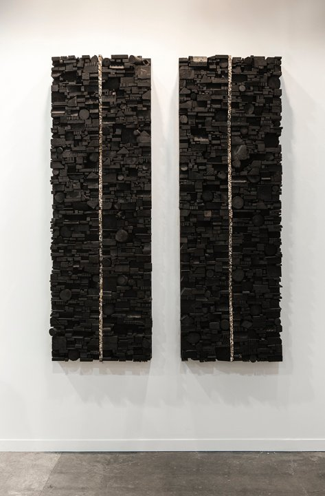 Number 231 - diptych