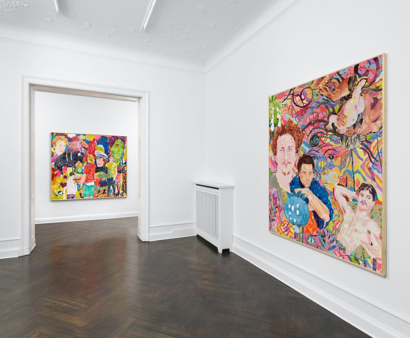 Galerie Buchholz Berlin Richard Hawkins 5