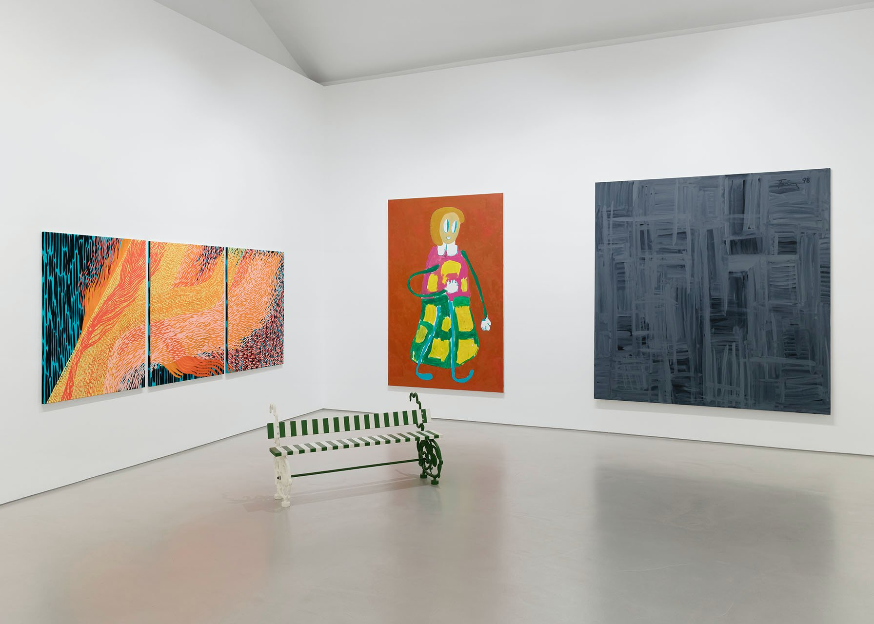 Galerie Max Hetzler FIAC at the gallery 1
