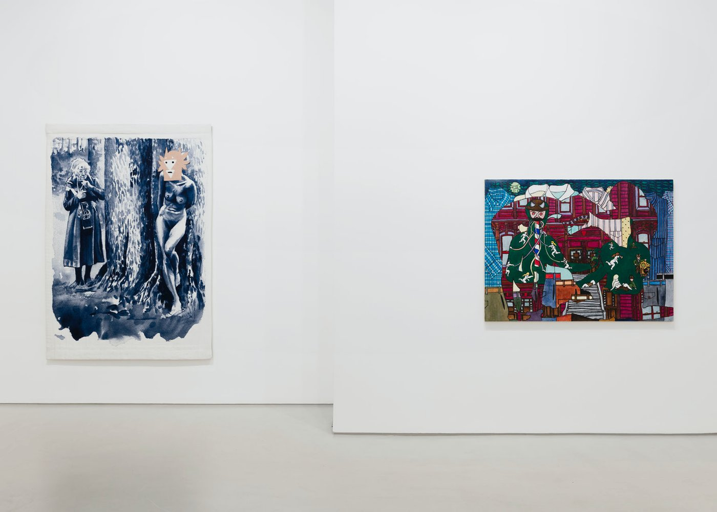 Galerie Max Hetzler FIAC at the gallery 2