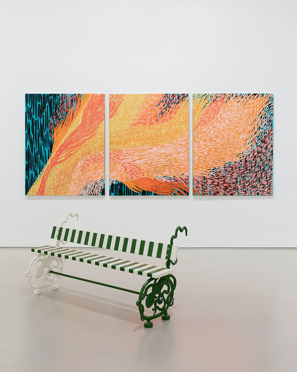Galerie Max Hetzler FIAC at the gallery 4