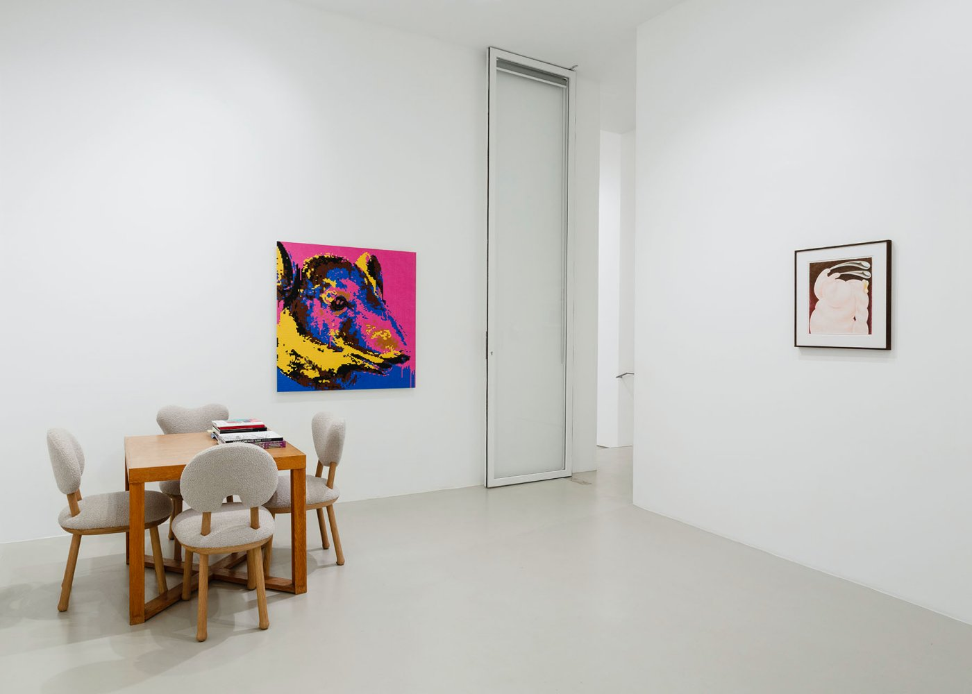 Galerie Max Hetzler FIAC at the gallery 7