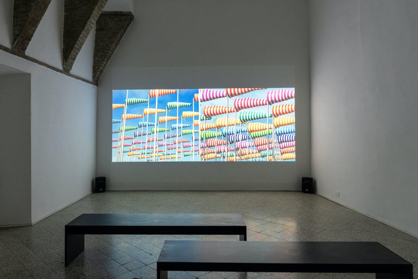 Galleria Continua San Gimignano Daniel Buren 5