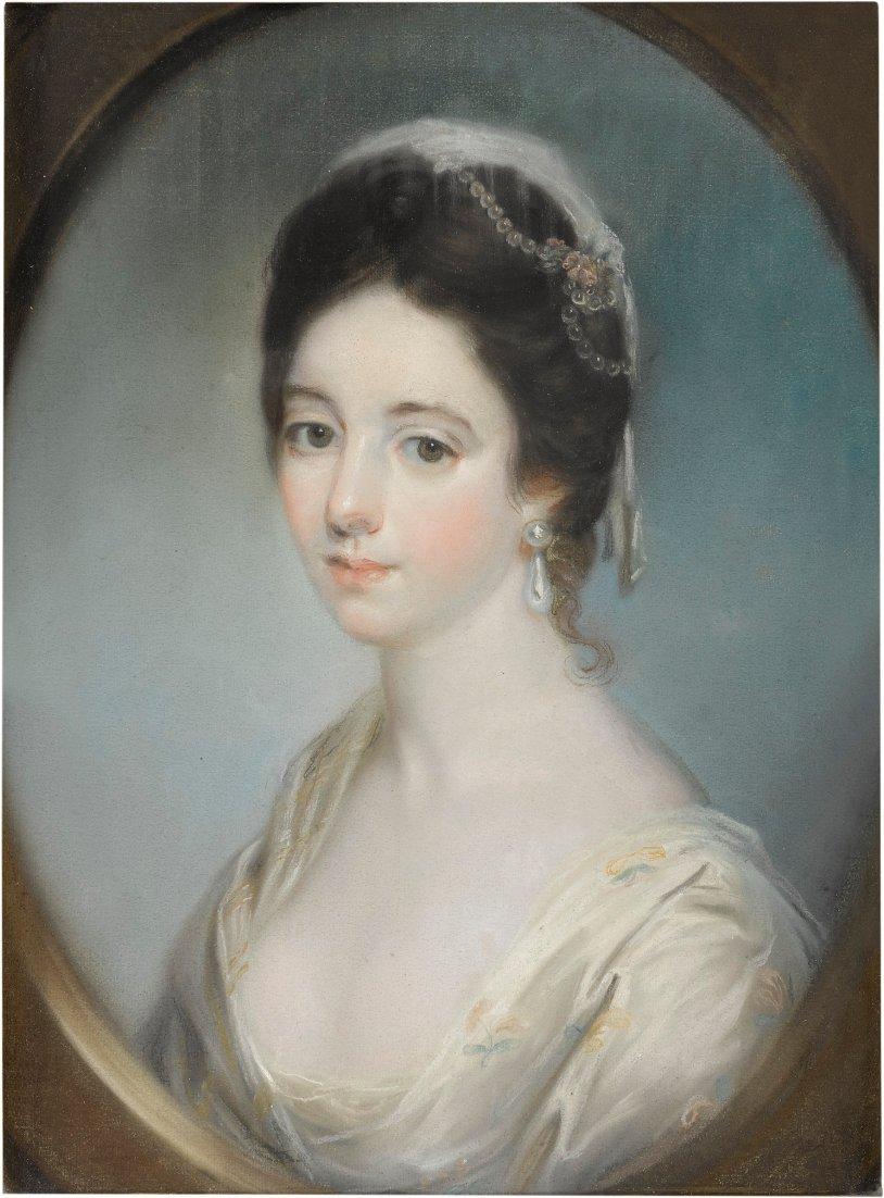 Portrait of a woman (probably Anne Champion de Crespigny)