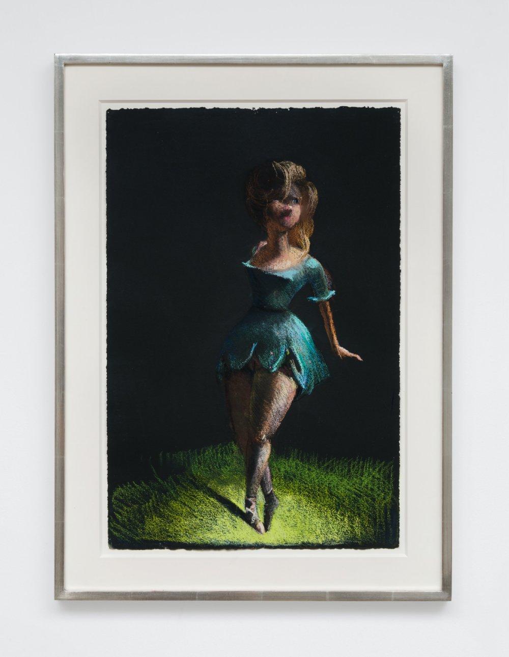 Dancer with Blue Tutu