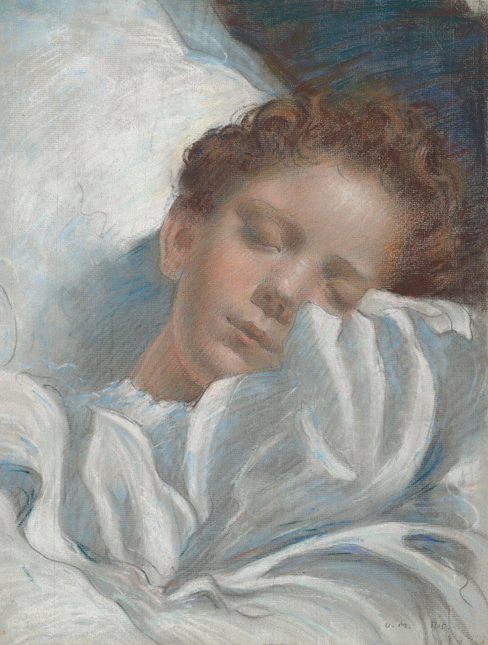 Study of a Sleeping Child