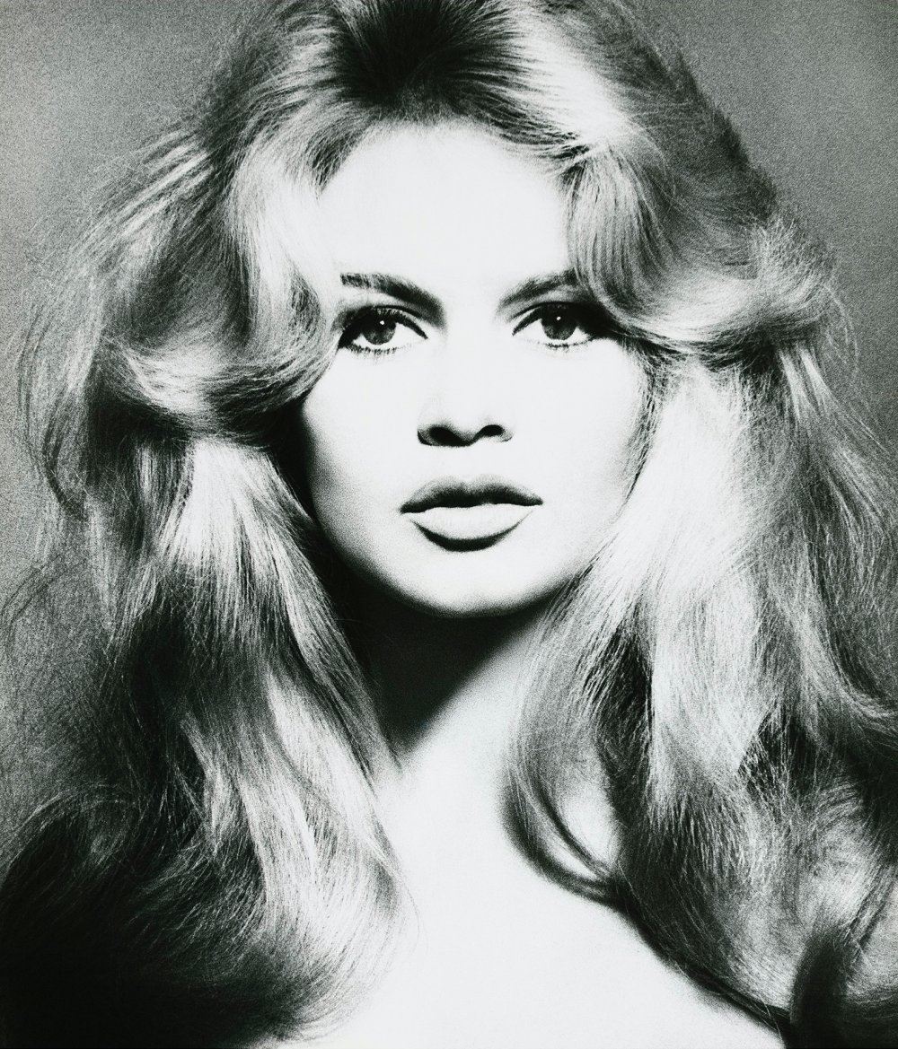 Brigitte Bardot, hair by Alexandre, Paris, January 1959