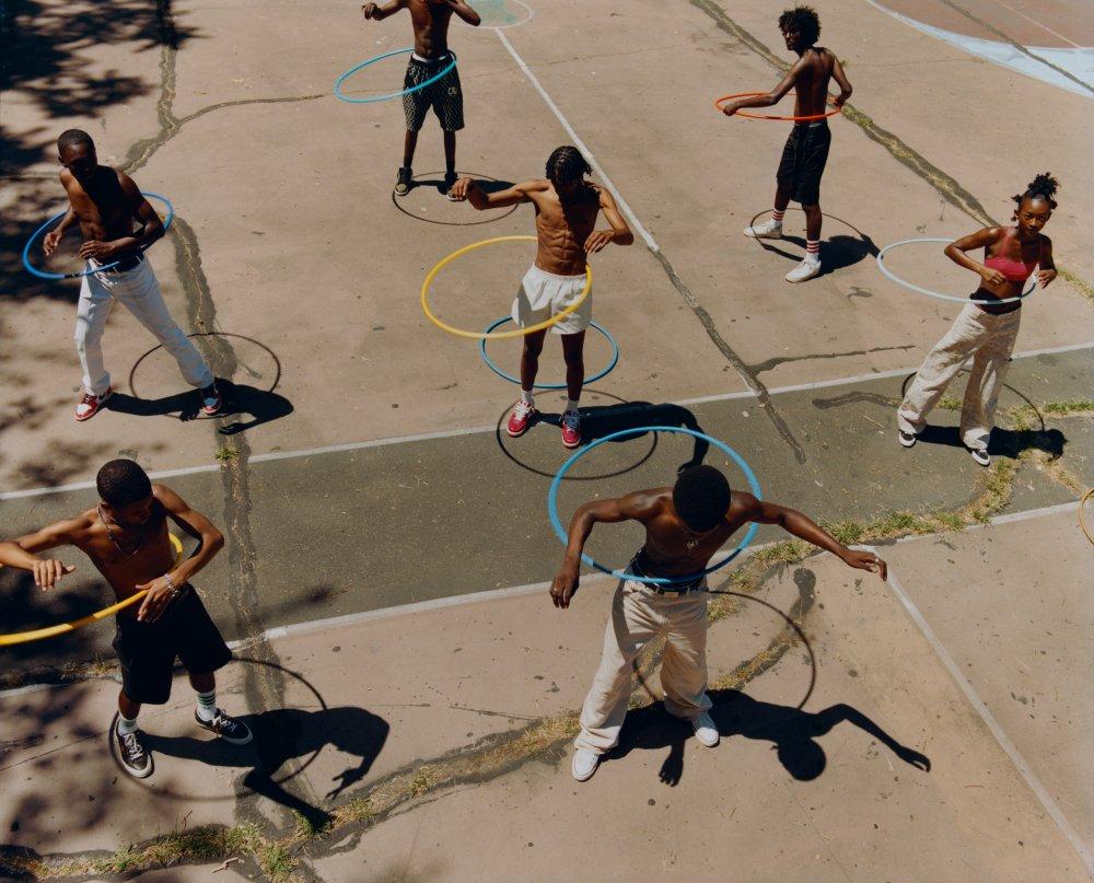 Untitled (Group Hula Hoop)