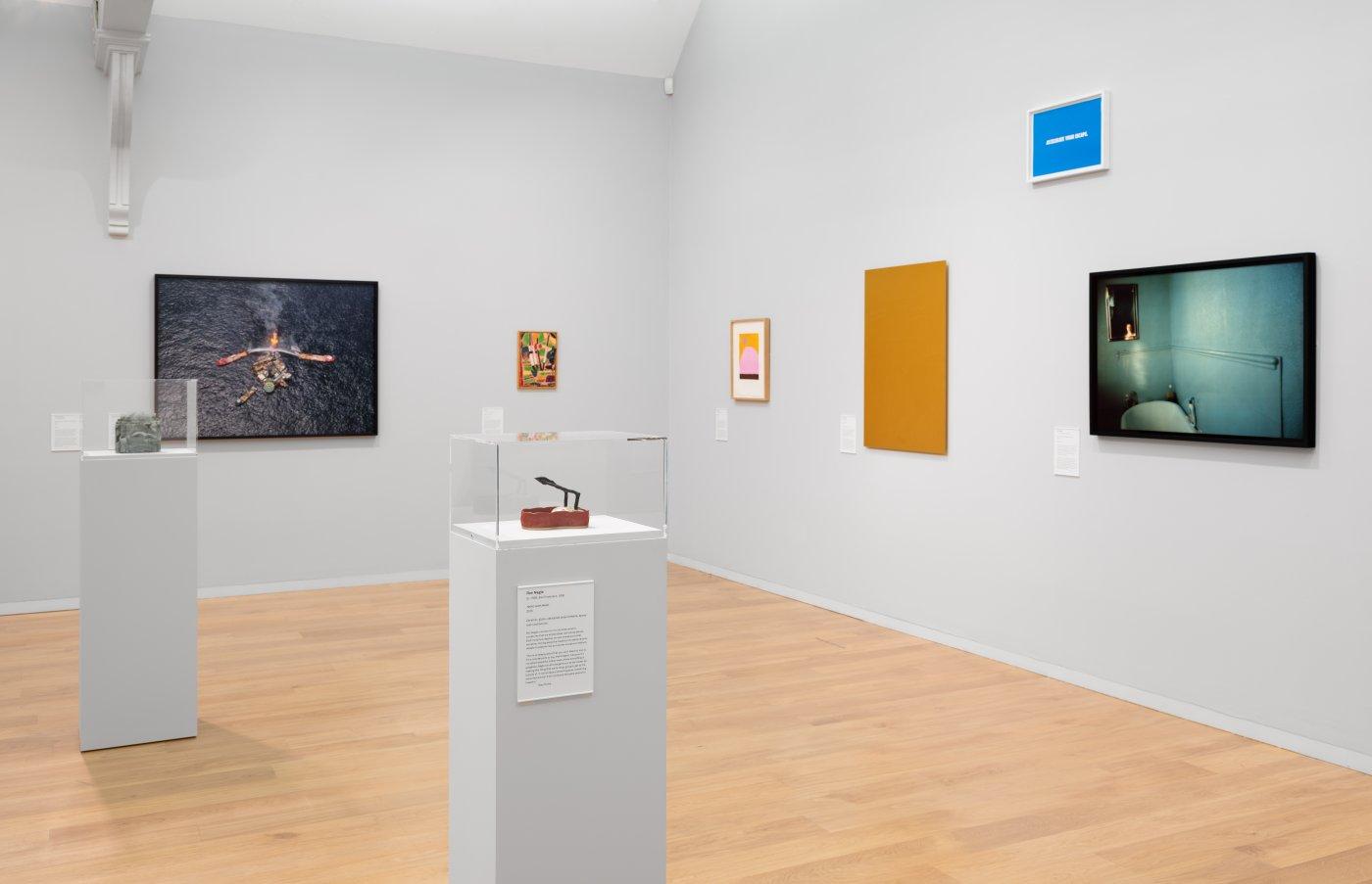 Whitechapel Gallery Gary Hume Hiscox 6