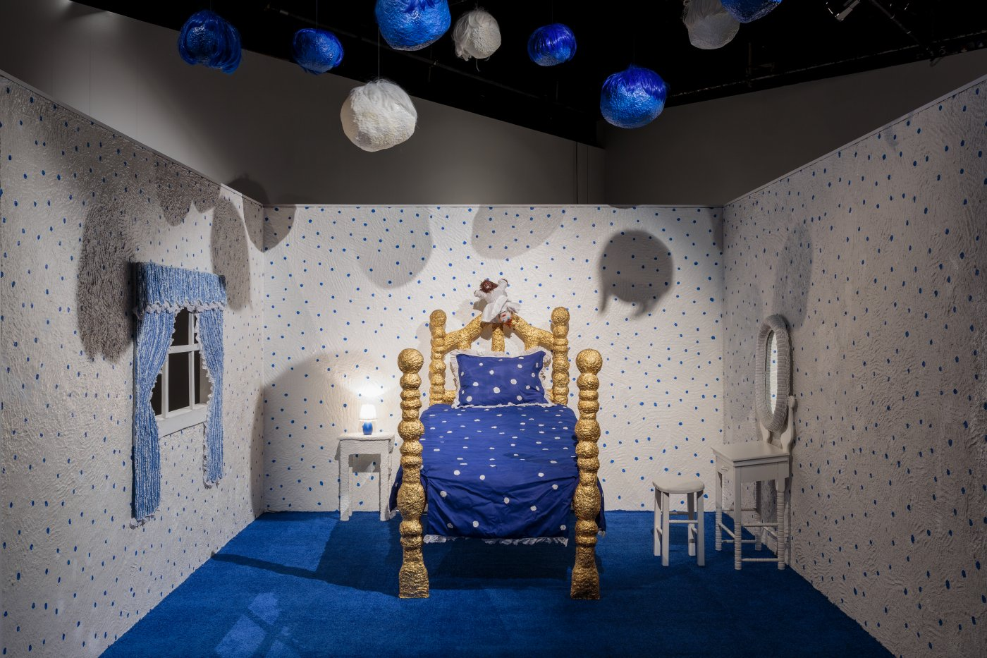 Installation views of Trulee Hall at Zabludowicz Collection