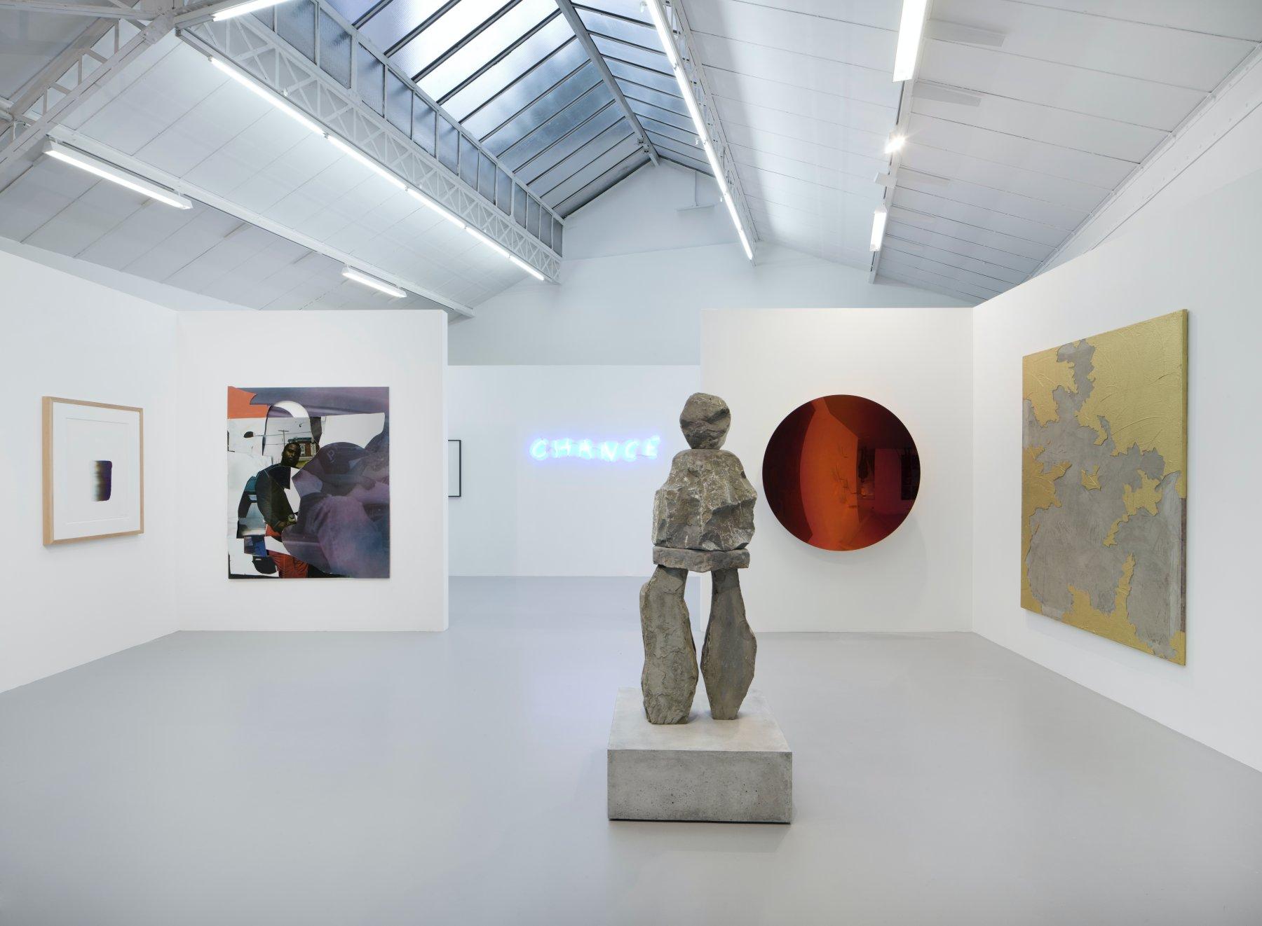 kamel mennour FIAC in the galleries 1