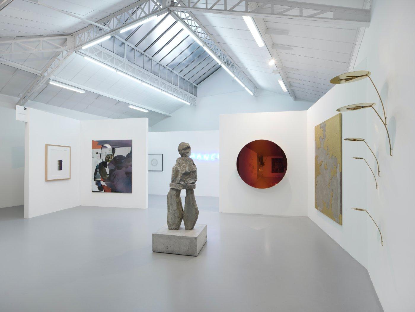 kamel mennour FIAC in the galleries 2