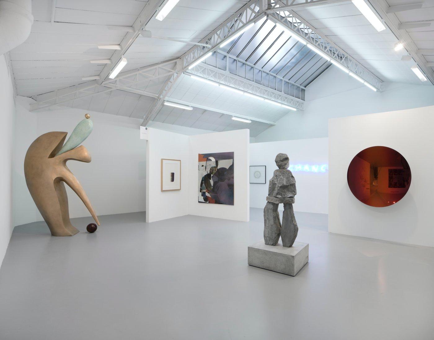 kamel mennour FIAC in the galleries 3