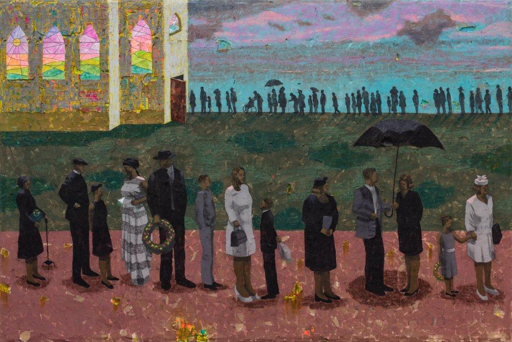 Procession (After Ellis Wilson)