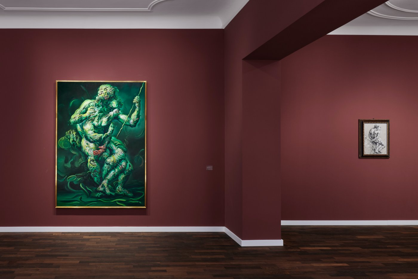Galerie Max Hetzler Bleibtreustr 15 16 Glenn Brown 2