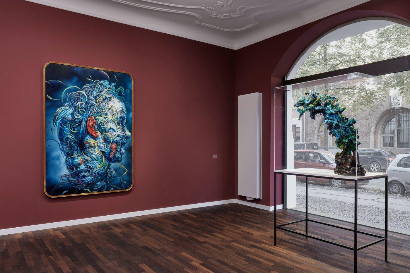 Galerie Max Hetzler Bleibtreustr 15 16 Glenn Brown 5