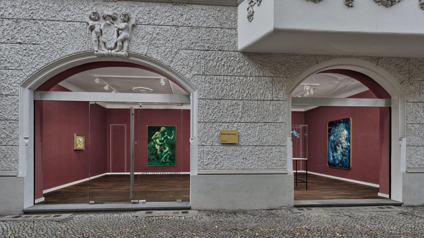 Galerie Max Hetzler Bleibtreustr 15 16 Glenn Brown 7