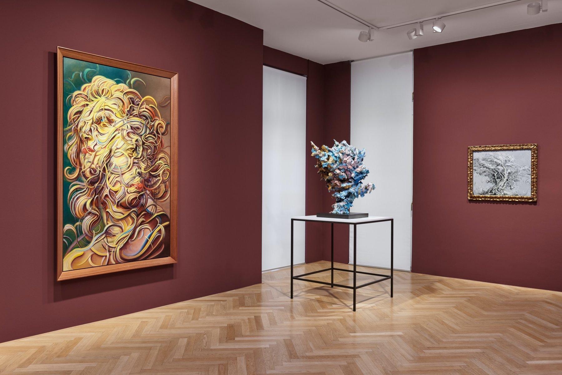 Galerie Max Hetzler Bleibtreustr 45 Glenn Brown 1