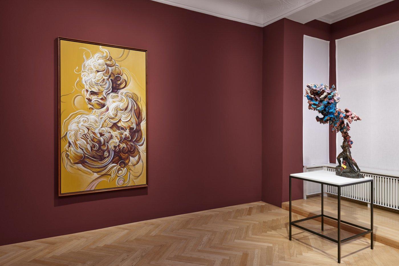 Galerie Max Hetzler Bleibtreustr 45 Glenn Brown 10