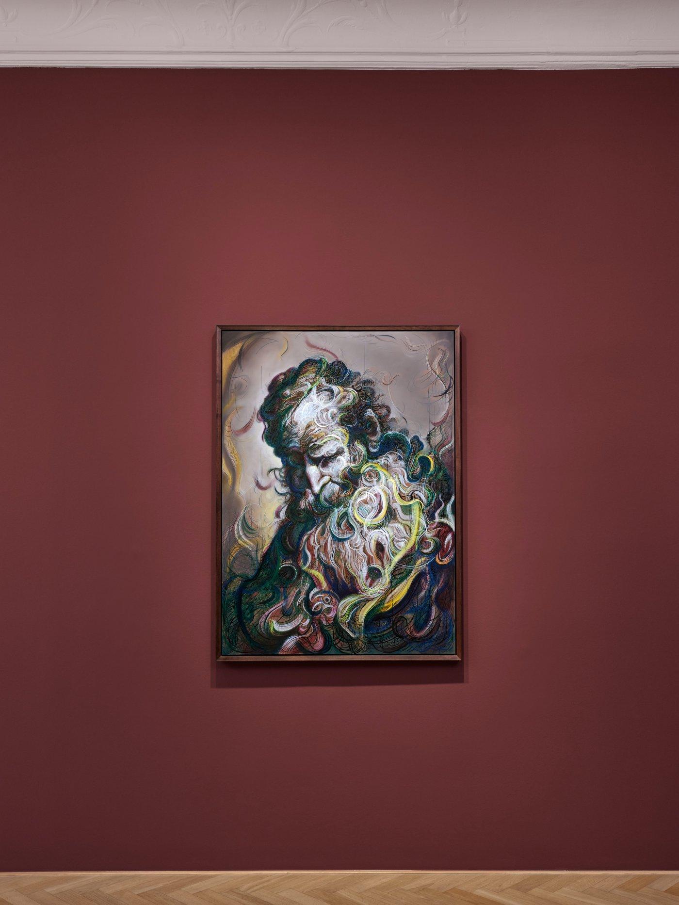Galerie Max Hetzler Bleibtreustr 45 Glenn Brown 11