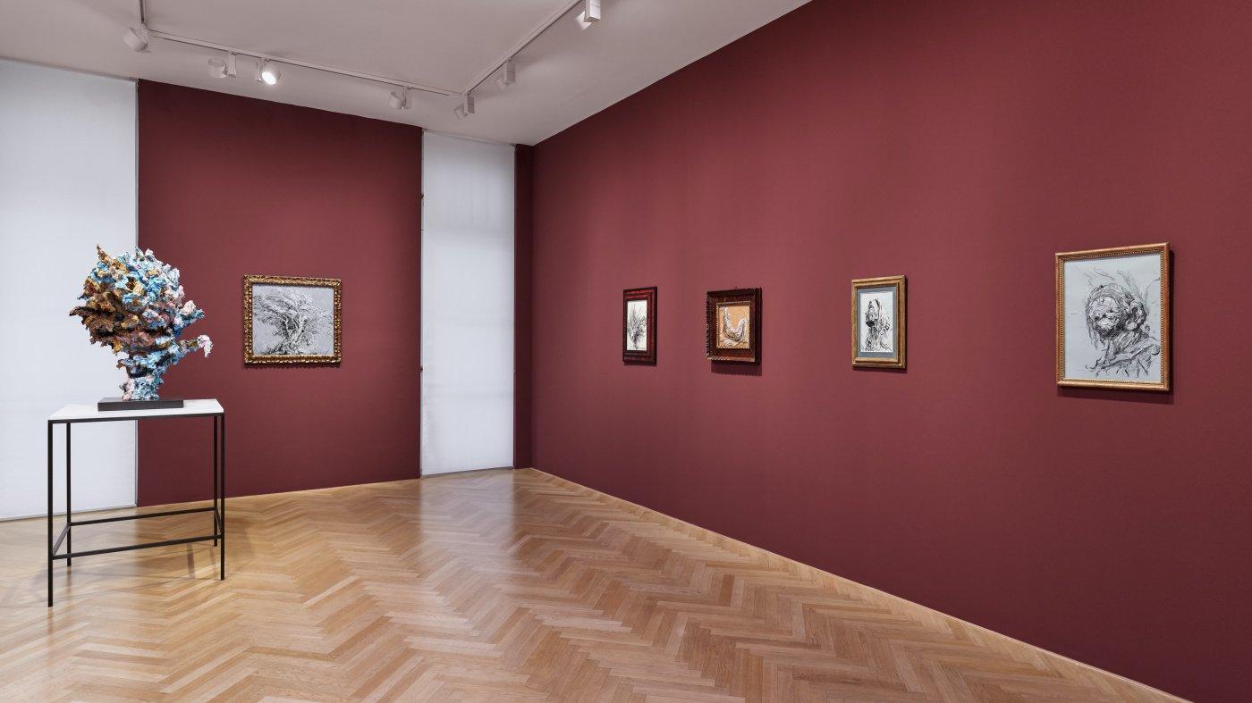 Galerie Max Hetzler Bleibtreustr 45 Glenn Brown 3