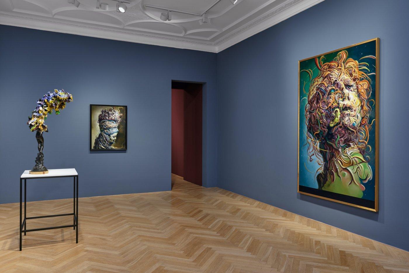 Galerie Max Hetzler Bleibtreustr 45 Glenn Brown 4