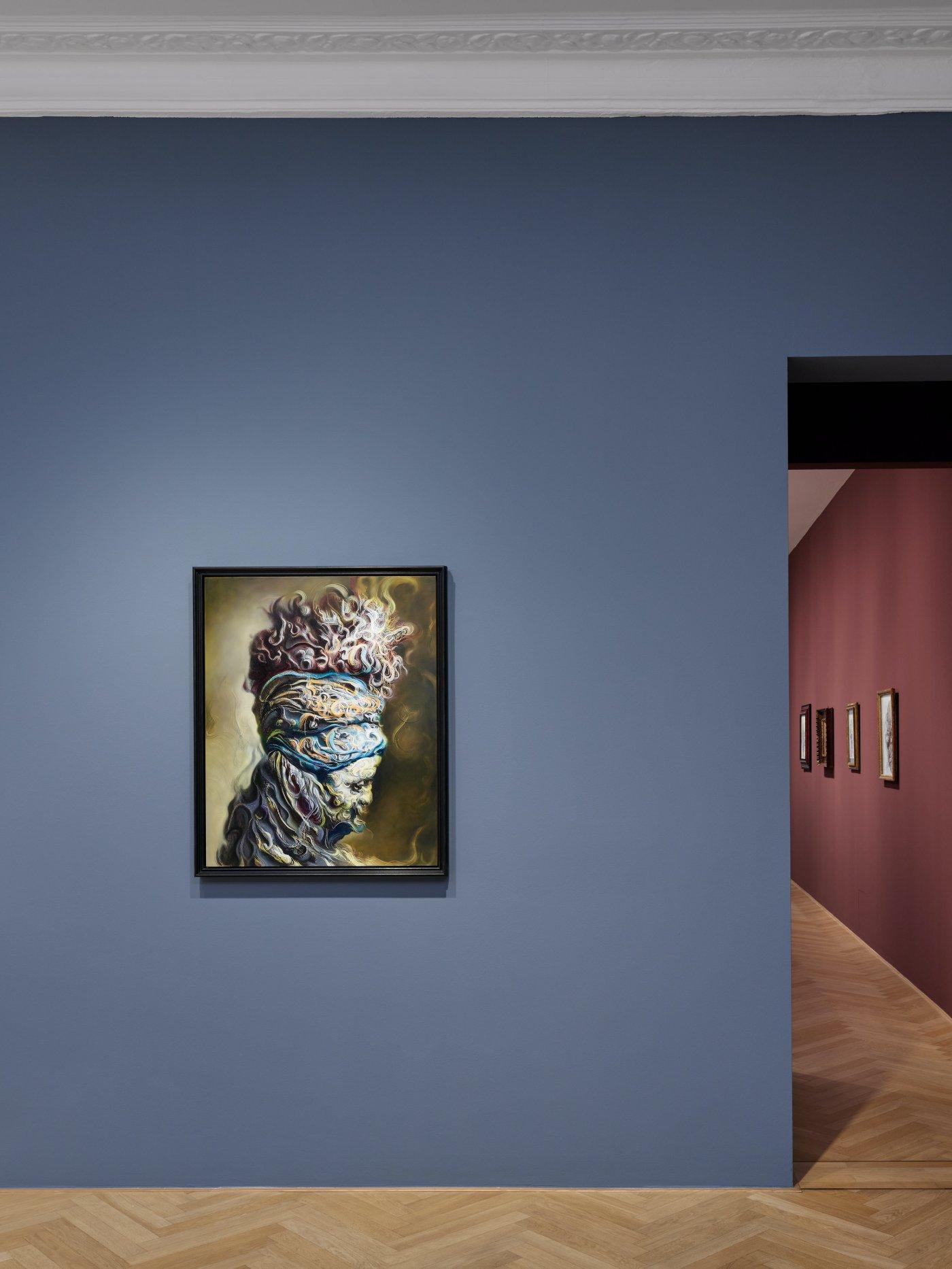 Galerie Max Hetzler Bleibtreustr 45 Glenn Brown 5