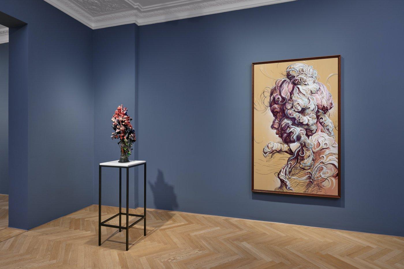 Galerie Max Hetzler Bleibtreustr 45 Glenn Brown 7