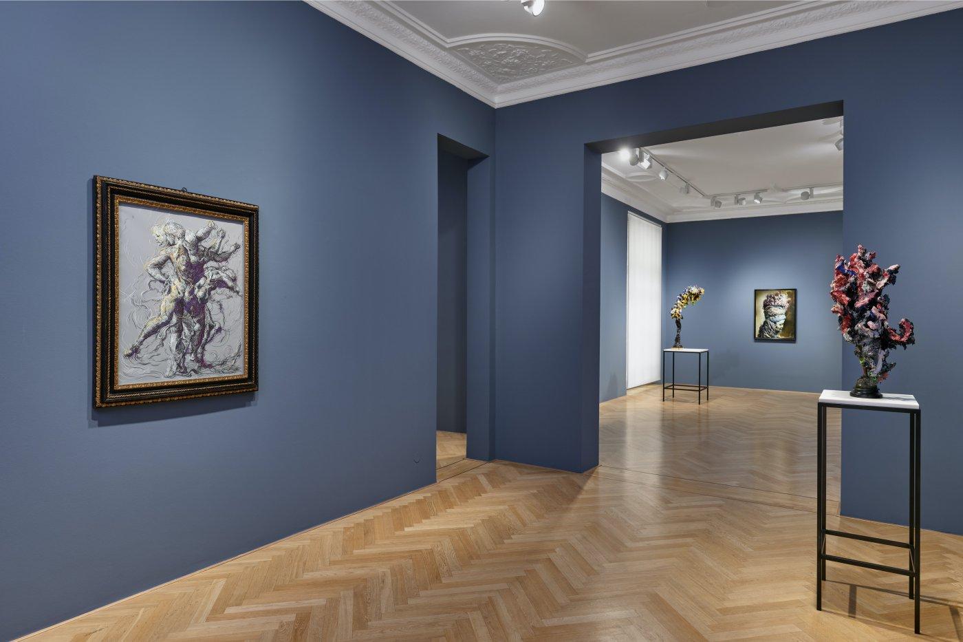 Galerie Max Hetzler Bleibtreustr 45 Glenn Brown 8