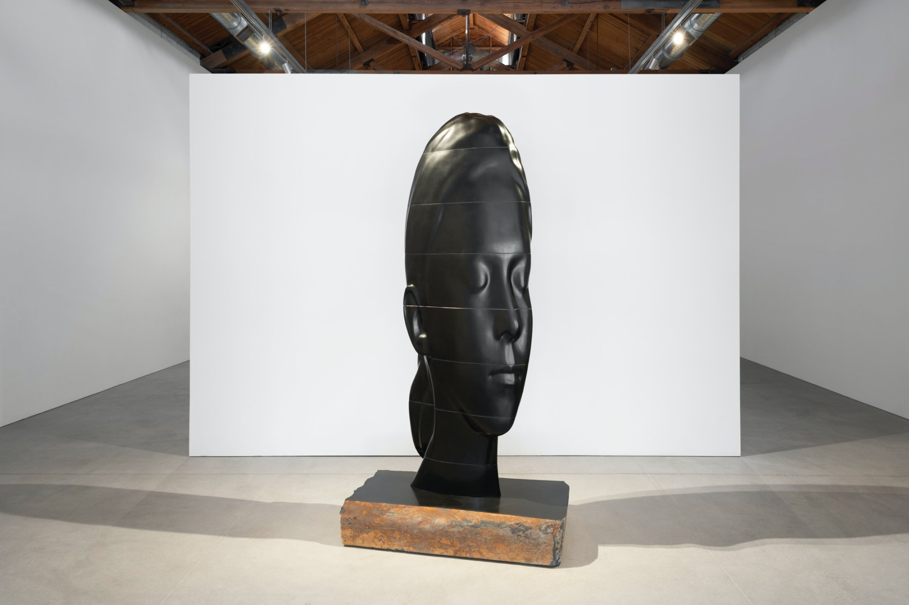Gray Warehouse Jaume Plensa 1