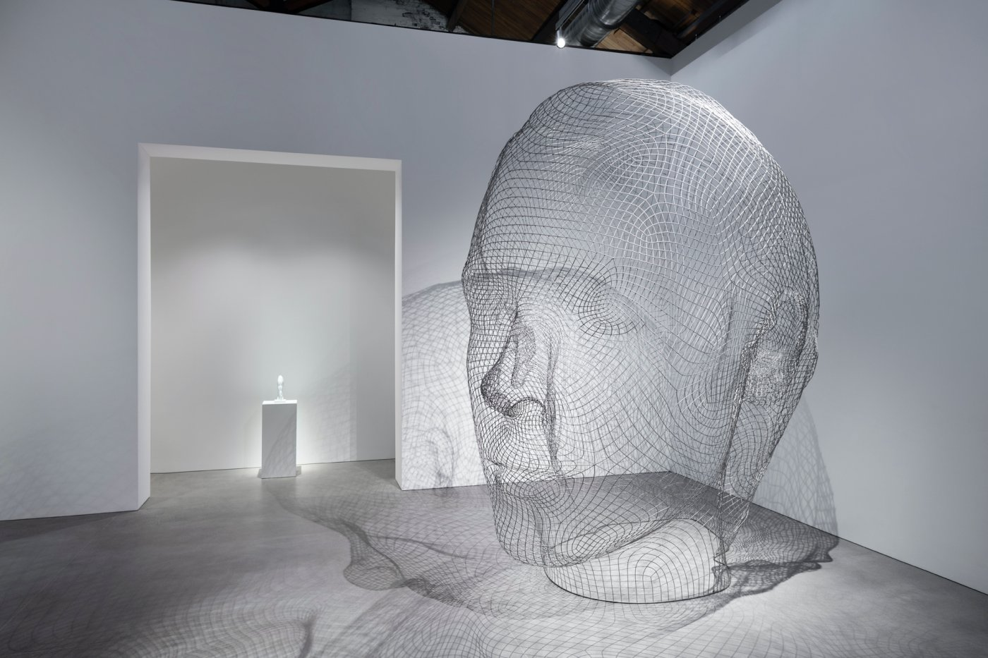 Gray Warehouse Jaume Plensa 2
