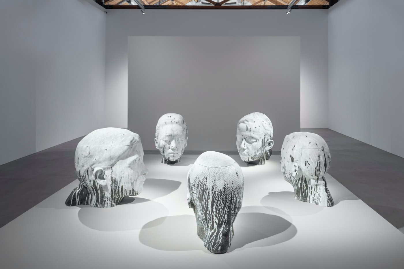 Gray Warehouse Jaume Plensa 3