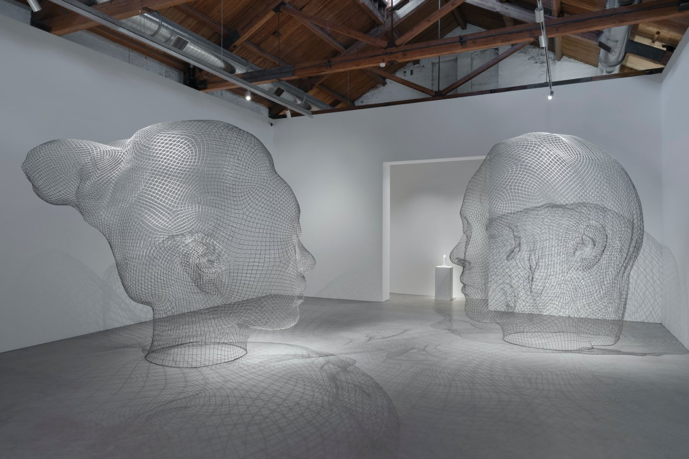 Gray Warehouse Jaume Plensa 6