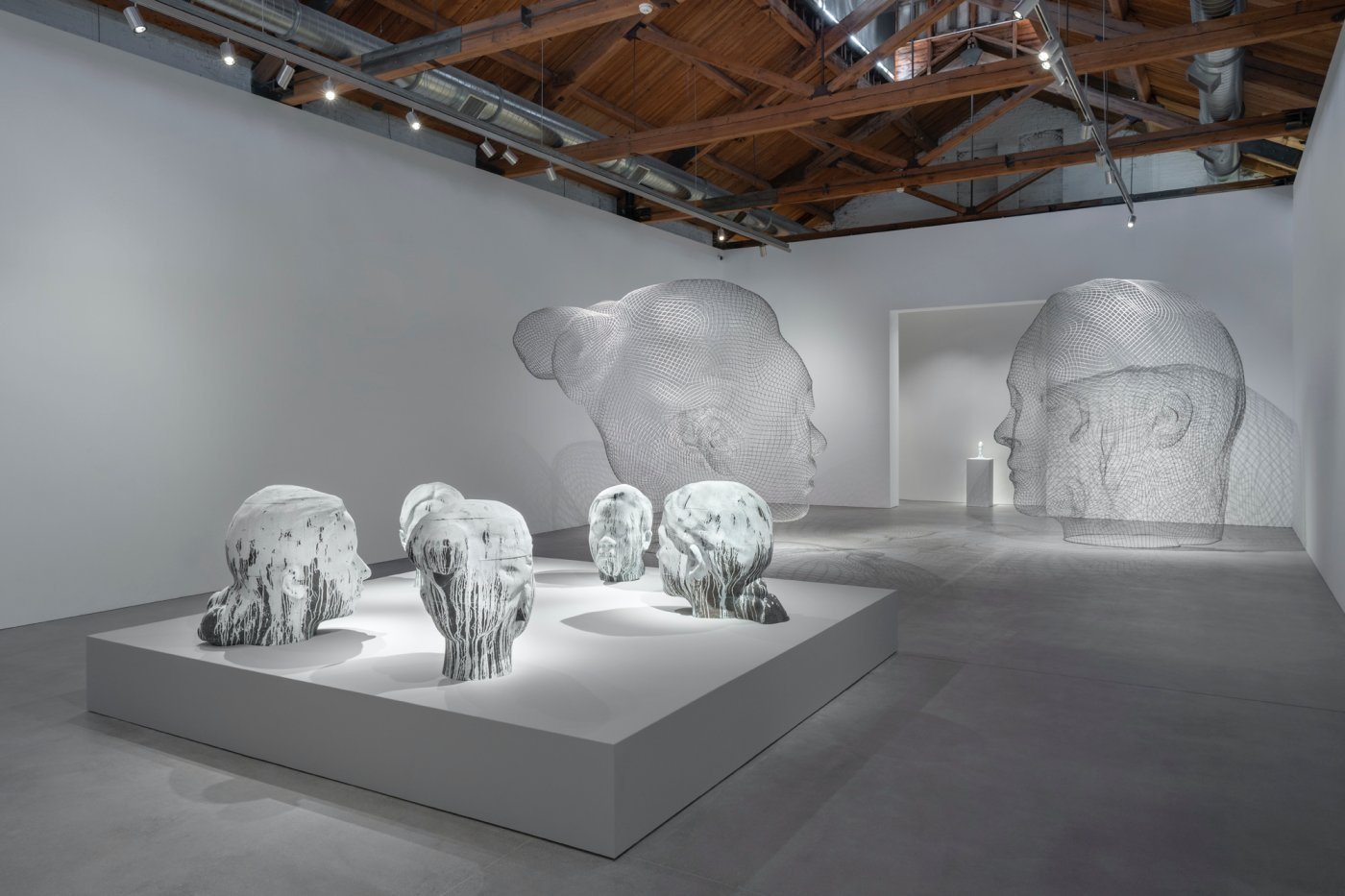 Gray Warehouse Jaume Plensa 7