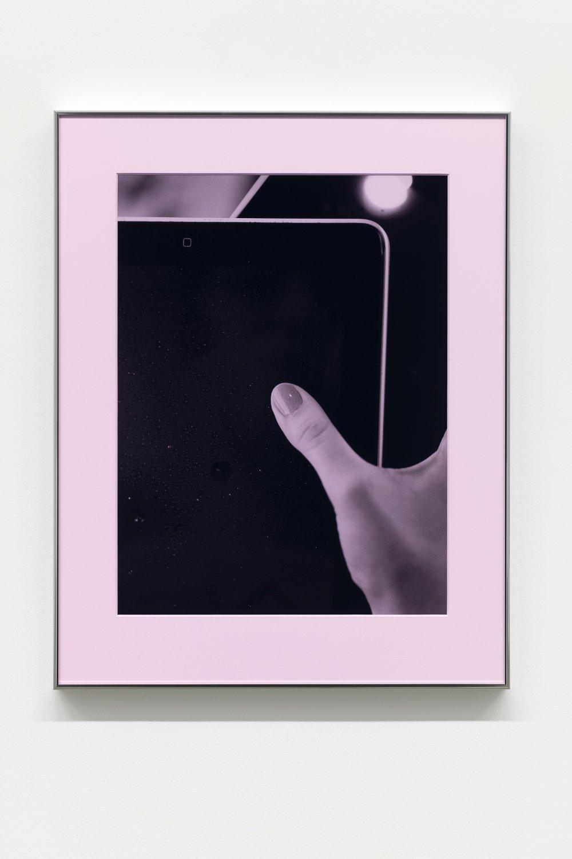Thumb, Pad (Pink Filter)