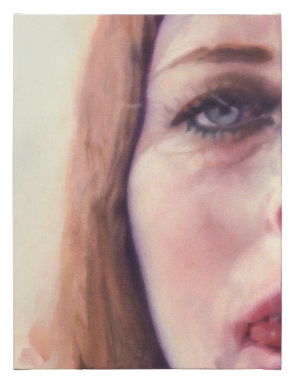 Untitled (half face woman)