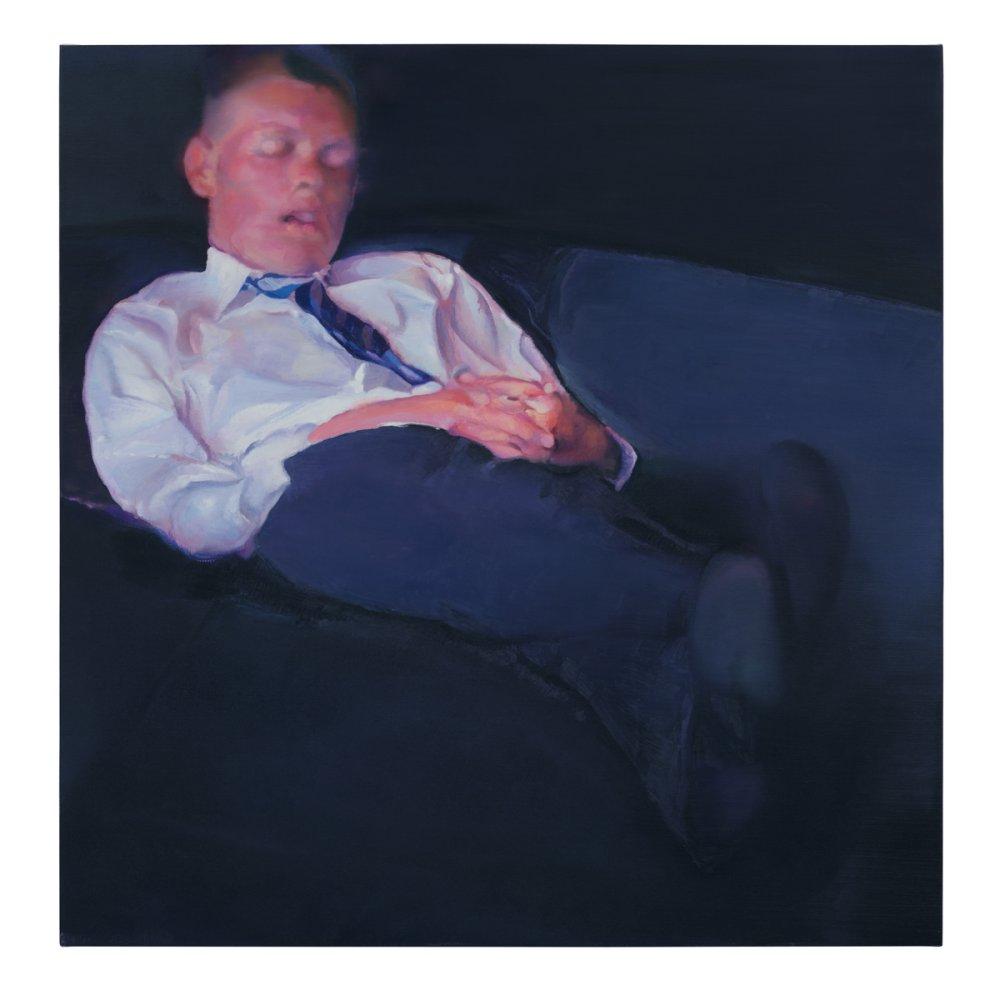 Untitled (man asleep)