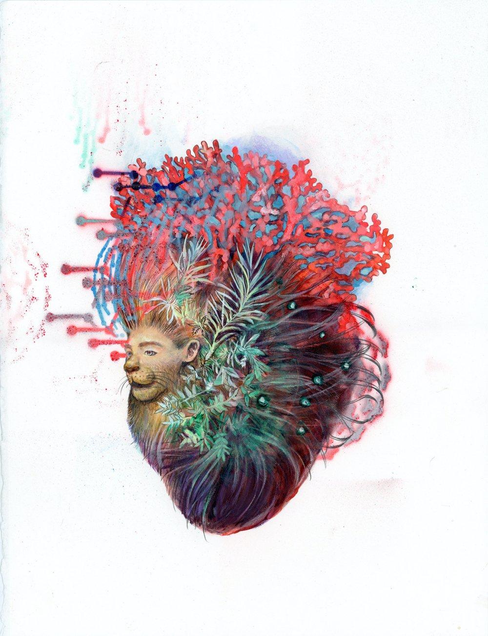 Entanglement Hearts - Narasimha's Mane