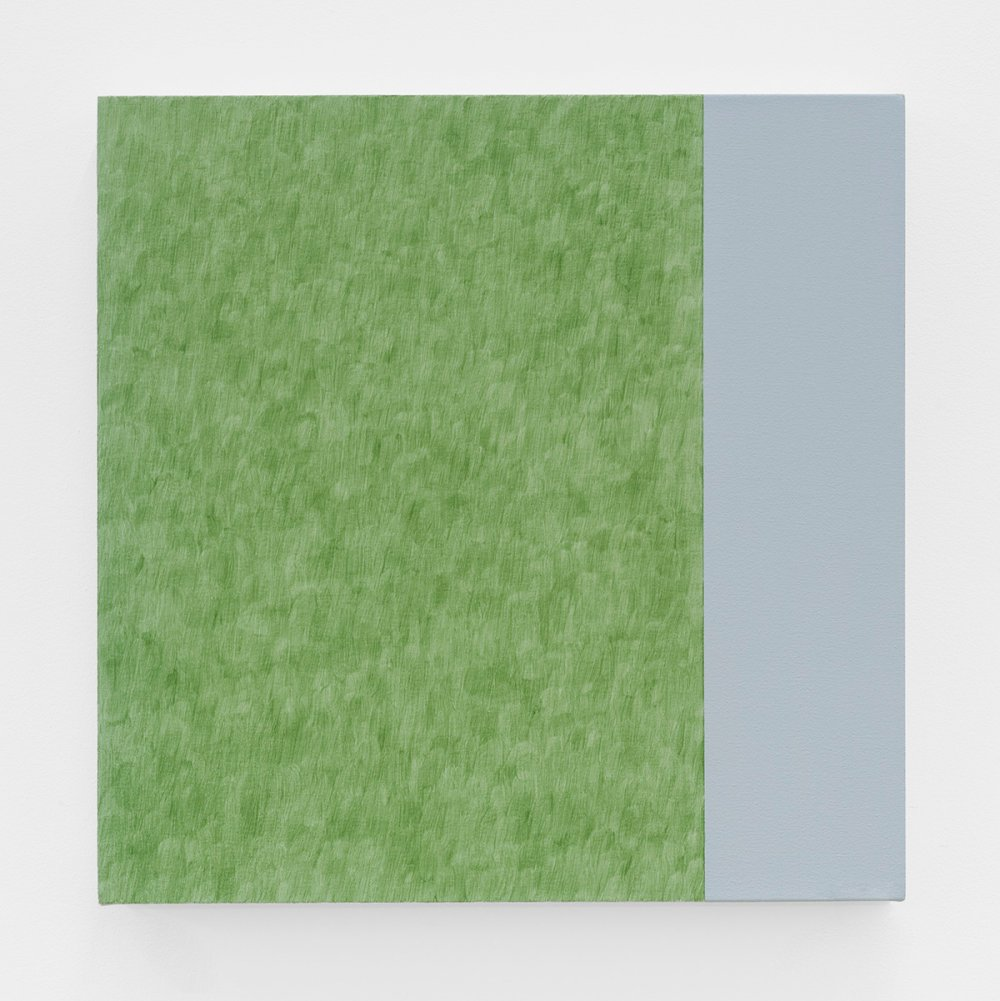 Pale Painting: Green Earth/Indigo