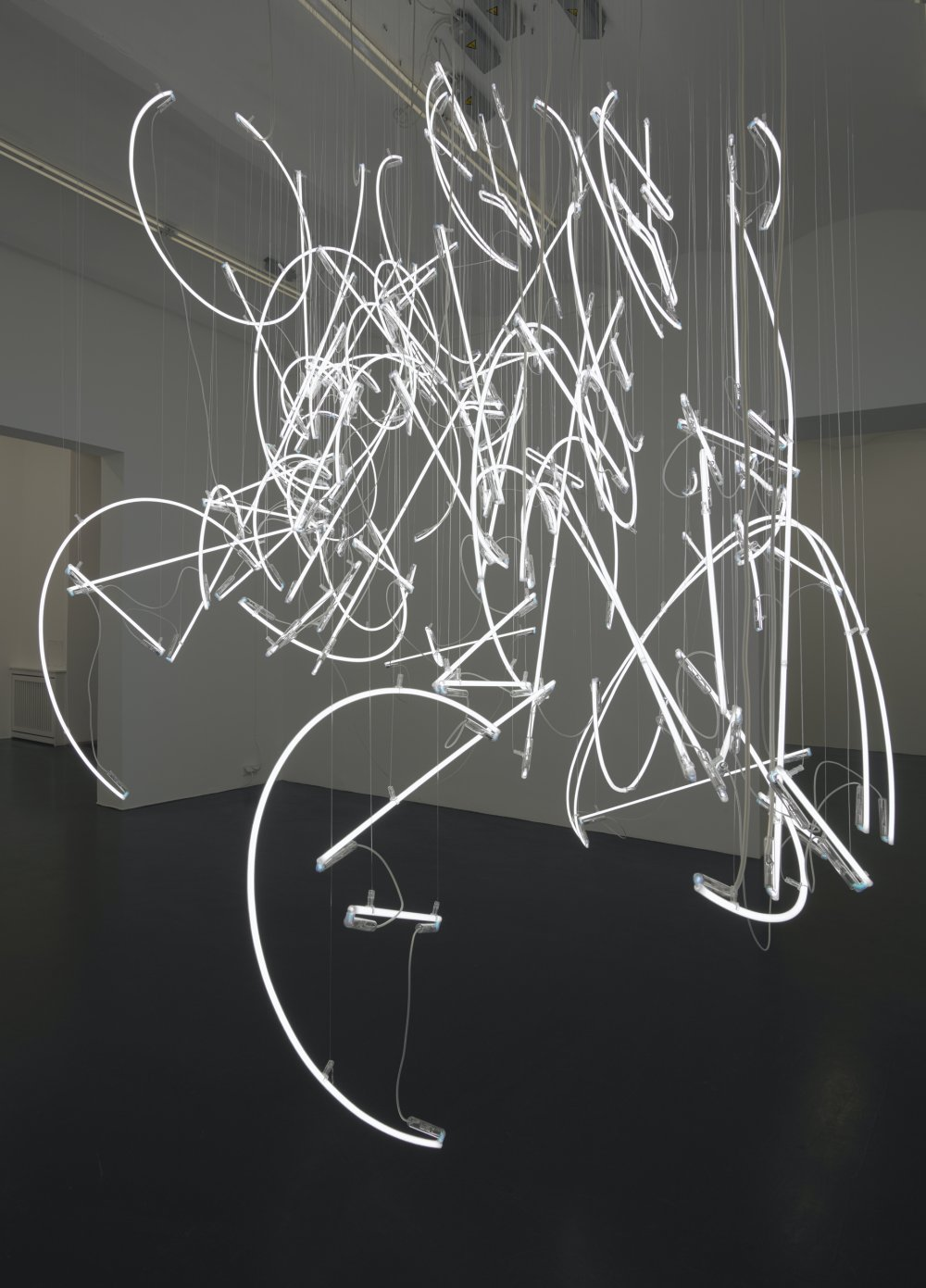 Neon Forms (after Noh V)