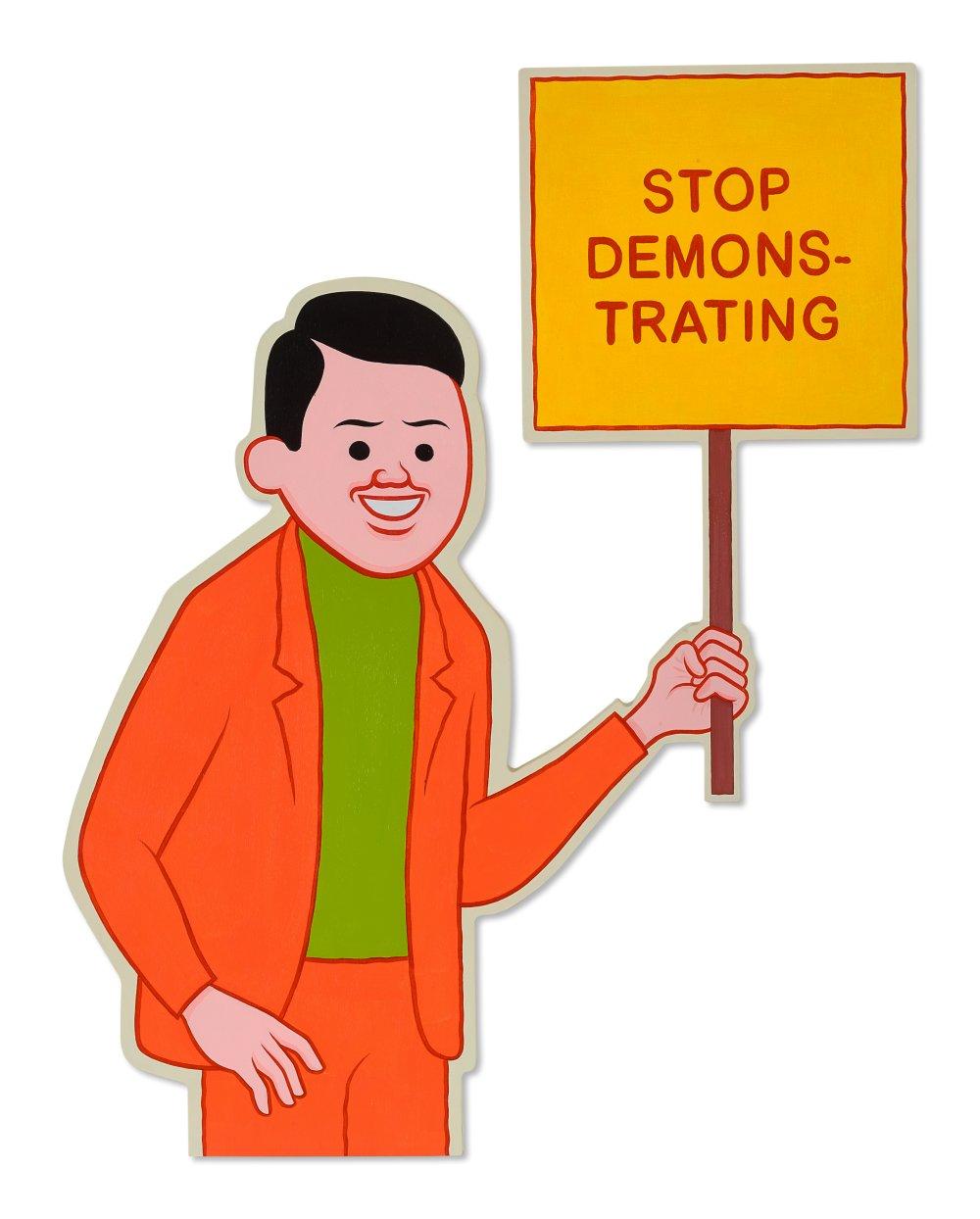 Stop demonstrating
