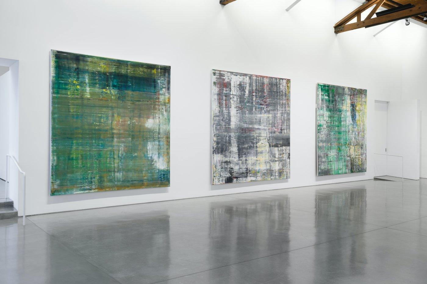 Gagosian Beverly Hills Gerhard Richter 2
