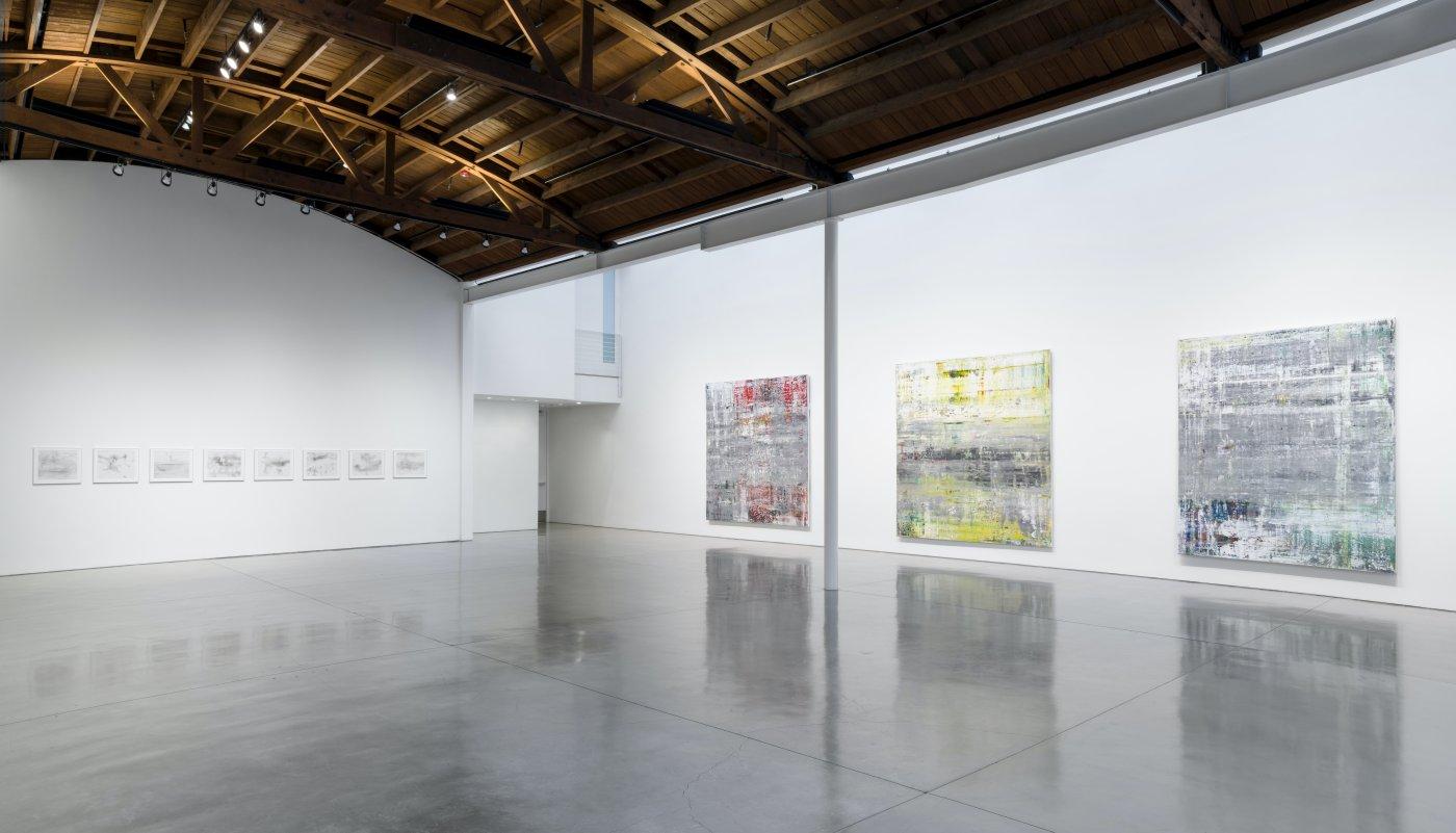 Gagosian Beverly Hills Gerhard Richter 3