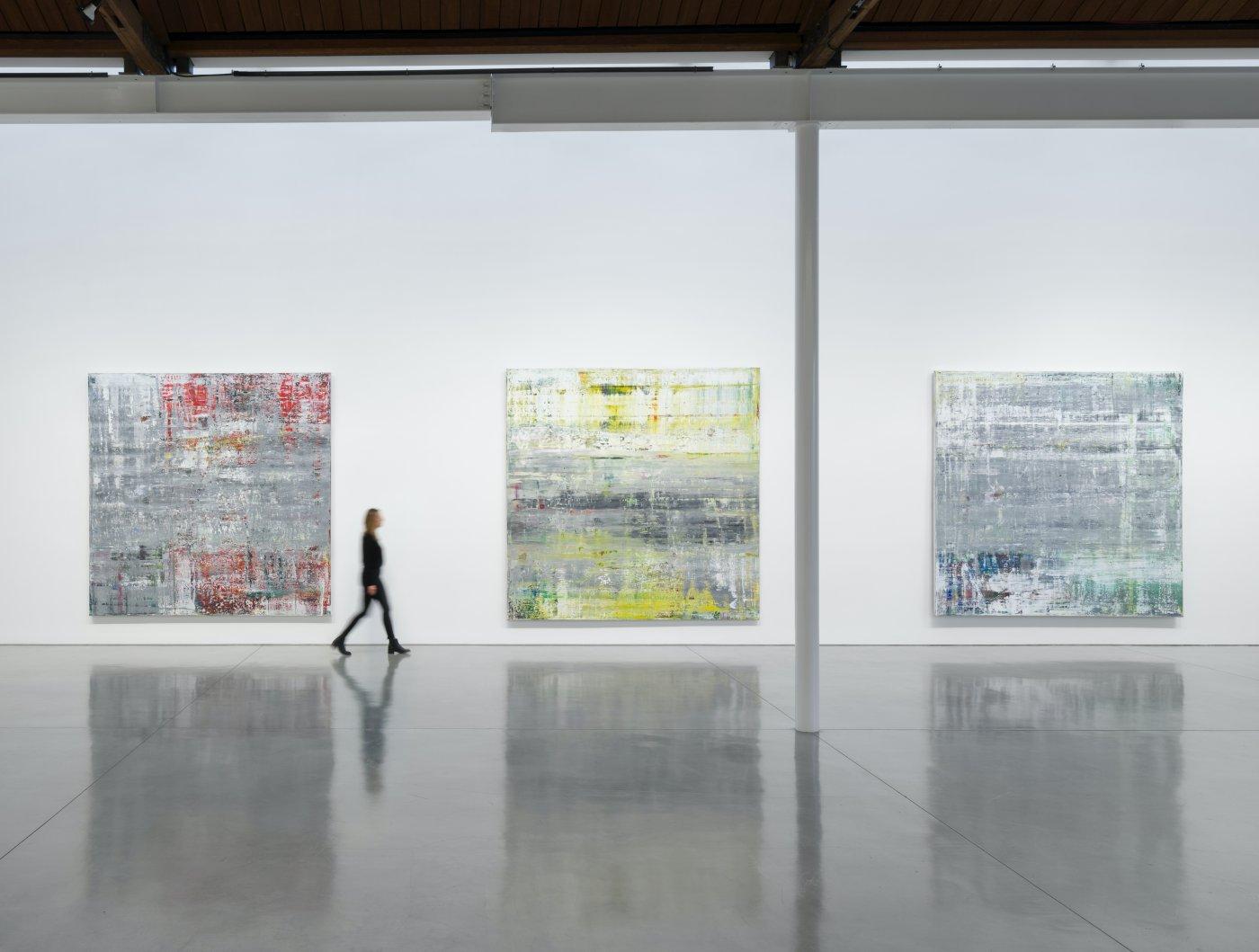 Gagosian Beverly Hills Gerhard Richter 4