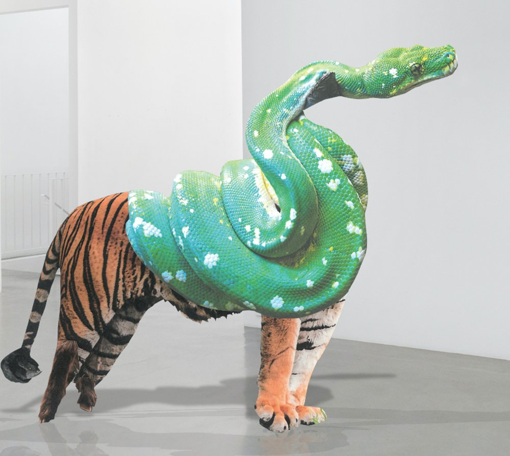 Beast-beast snaketiger